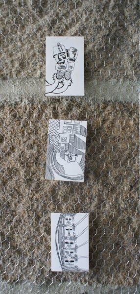 Bocetos para libreta, Roke Romero grande